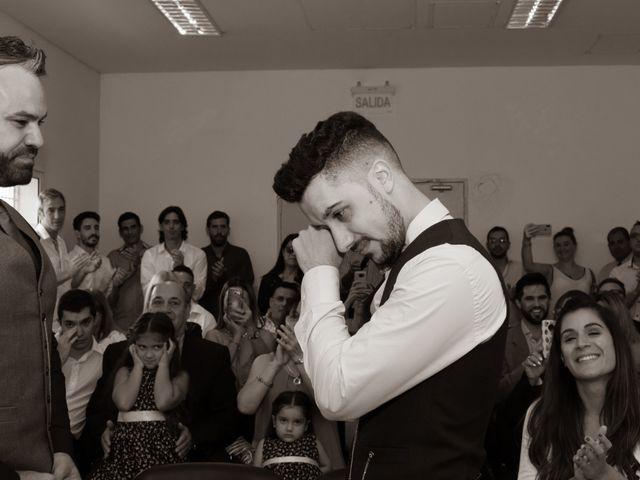 El casamiento de Facundo  y Sebastián