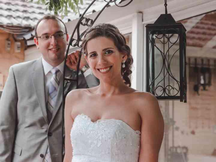El casamiento de Fernanda y Franco