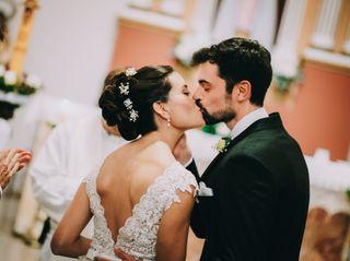 El casamiento de Emilia y Fernando