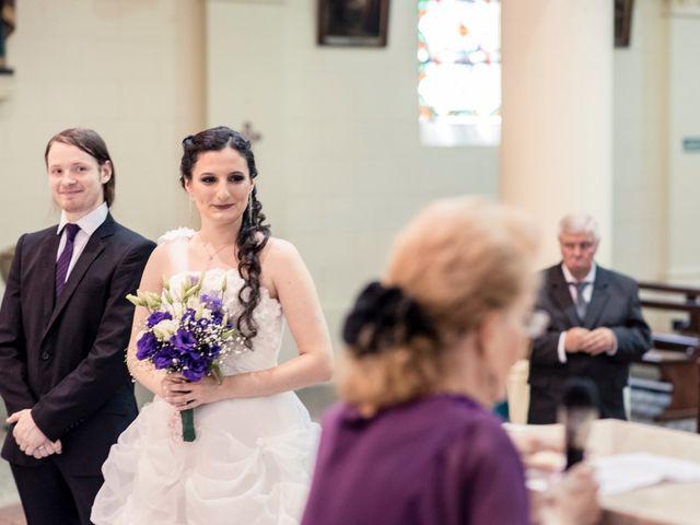 El casamiento de Solana y Hernán