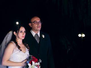 El casamiento de Carla y Luis