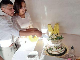 El casamiento de Manuel y Cintia