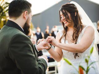 El casamiento de Débora y Charli