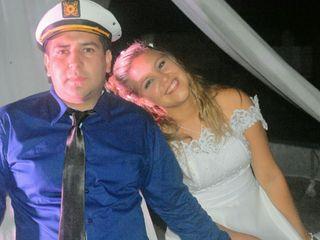 El casamiento de David  y Yani