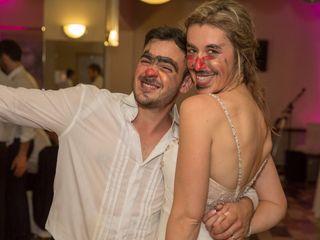 El casamiento de Florencia y Manuel