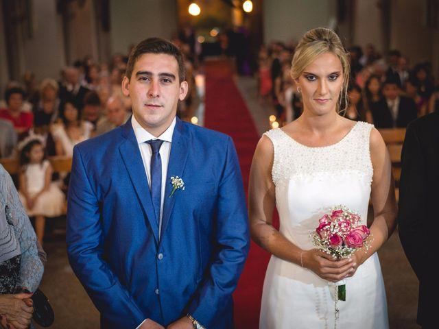 El casamiento de Mari y Leo