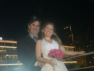 El casamiento de Giselle y Maximiliano