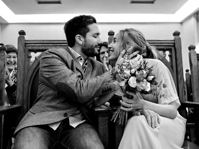 El casamiento de Cande y Martín