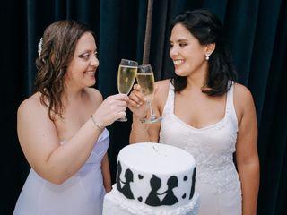 El casamiento de Agustina y Victoria
