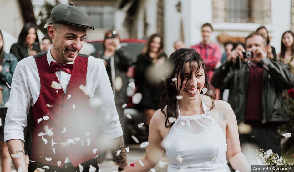 El casamiento de Ernesto y Vale en San Carlos de Bariloche, Río Negro