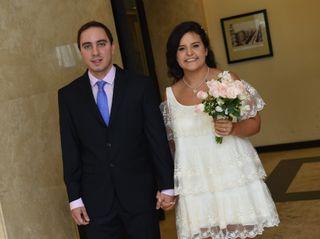 El casamiento de Nazarena y Bruno 2