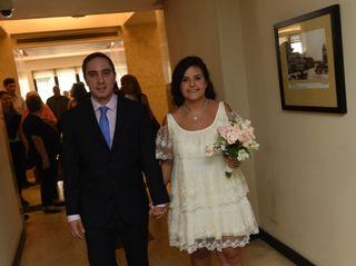 El casamiento de Nazarena y Bruno 3