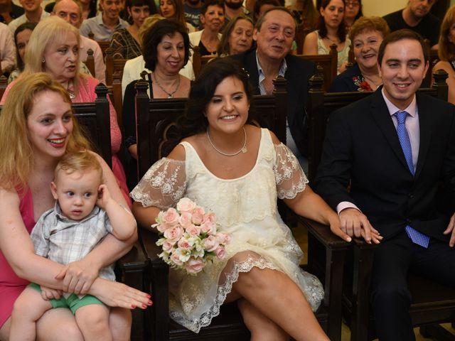 El casamiento de Bruno y Nazarena en Caballito, Capital Federal 6