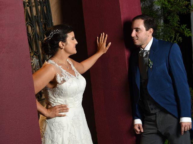 El casamiento de Nazarena y Bruno