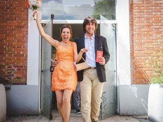 El casamiento de Macarena y Adrián