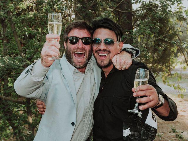 El casamiento de Nahue y Giuli en Maipu, Mendoza 98