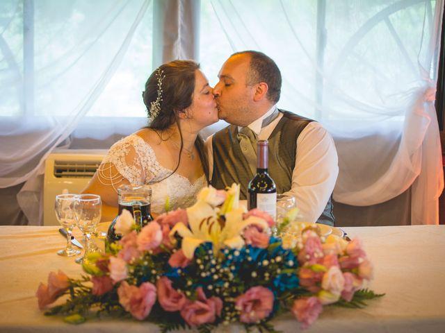 El casamiento de Melina y Damián