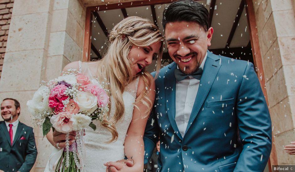 El casamiento de Nahue y Giuli en Maipu, Mendoza
