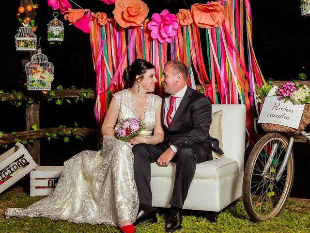 El casamiento de Nati y Fabi