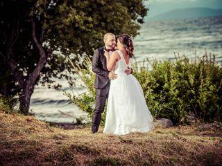 El casamiento de Daniela y Franco