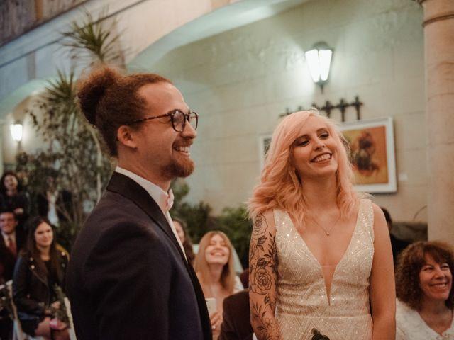 El casamiento de Delfi y Brandon