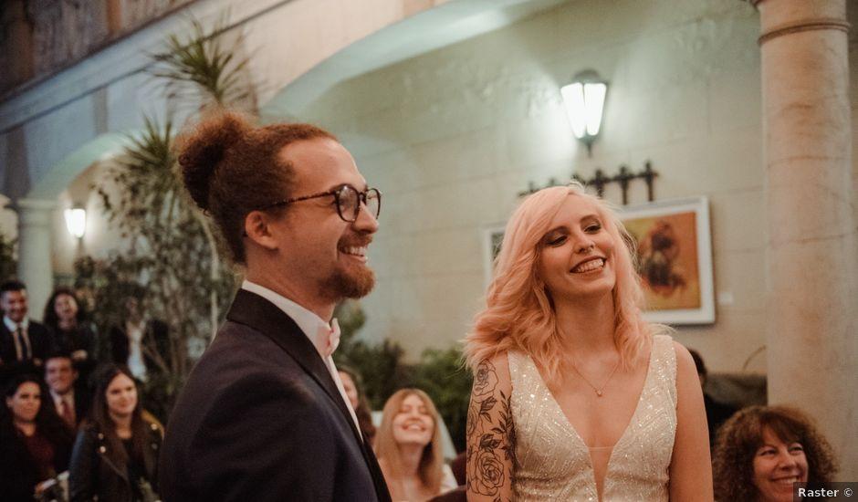 El casamiento de Brandon y Delfi en San Telmo, Capital Federal