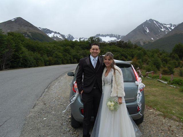El casamiento de Max y Carolina en Ushuaia, Tierra del Fuego 1
