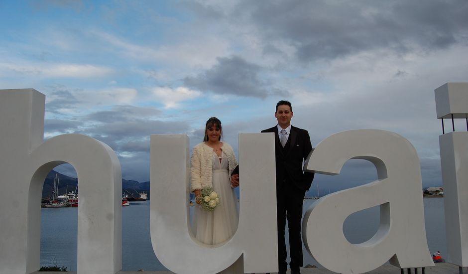 El casamiento de Max y Carolina en Ushuaia, Tierra del Fuego