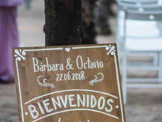 El casamiento de Barbara y Octavio 2