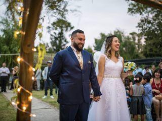 El casamiento de Evelyn y Lucas