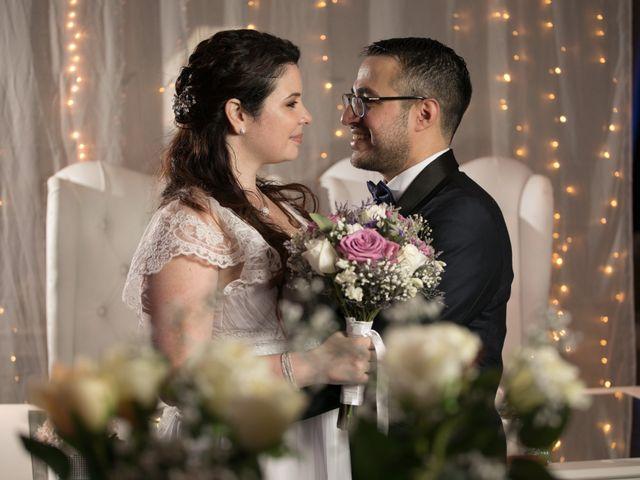 El casamiento de Flavia y Anibal