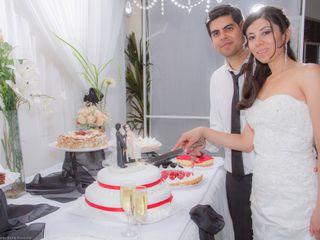 El casamiento de Cristina y Juan