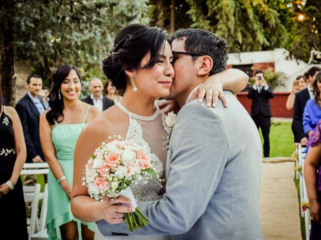 El casamiento de Marcela y Alexis