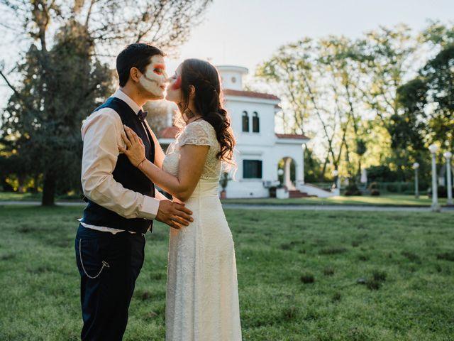 El casamiento de Federico y Natali en Pueblo Esther, Santa Fe 65
