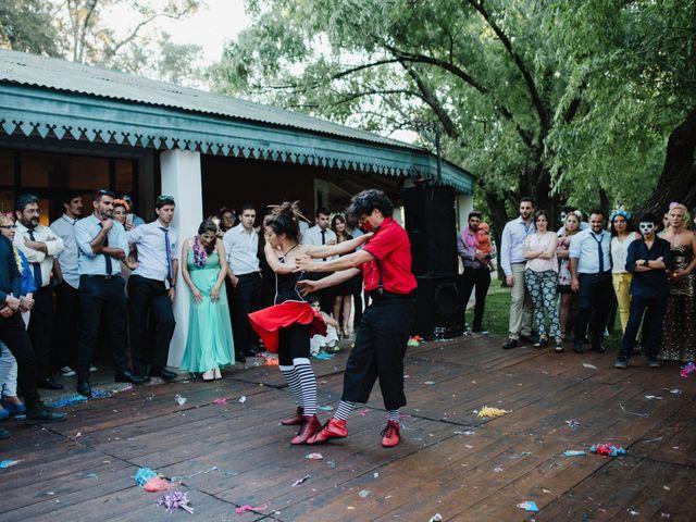 El casamiento de Federico y Natali en Pueblo Esther, Santa Fe 69