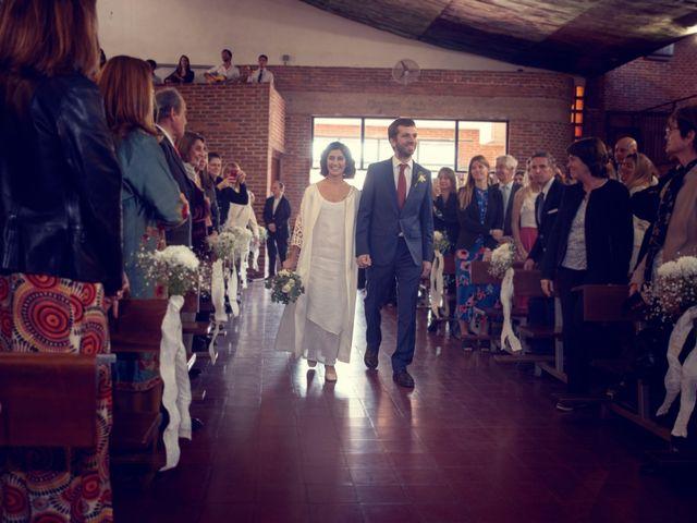 El casamiento de Federico y Celina en Capilla Del Señor, Buenos Aires 11
