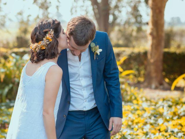 El casamiento de Celina y Federico