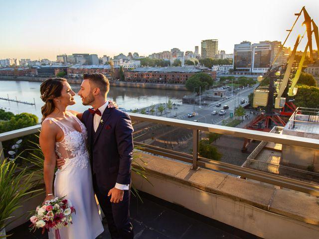 El casamiento de Dami y María en Puerto Madero, Capital Federal 90