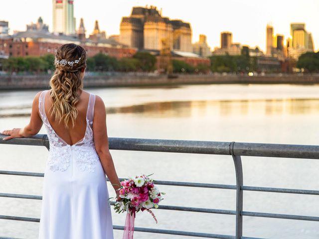 El casamiento de Dami y María en Puerto Madero, Capital Federal 107