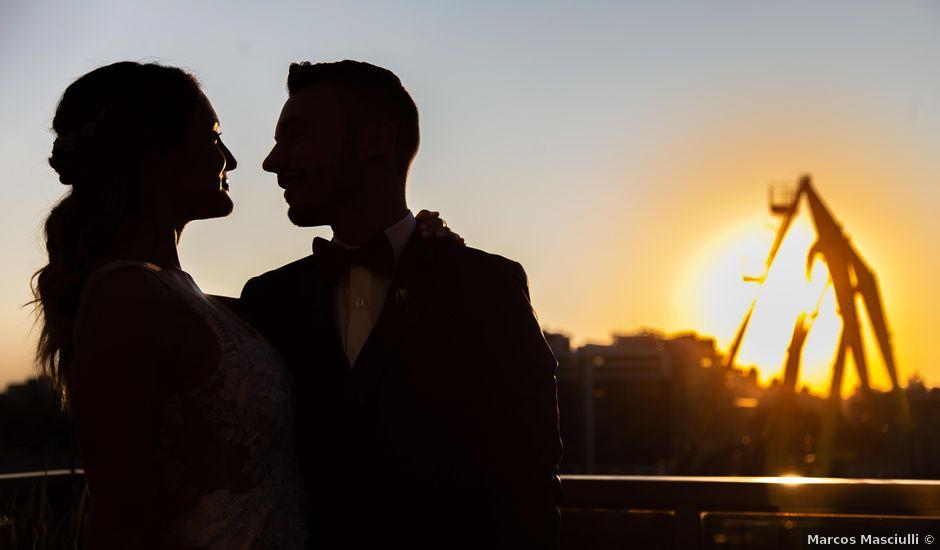 El casamiento de Dami y María en Puerto Madero, Capital Federal