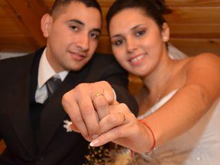 El casamiento de Cinthia  y René