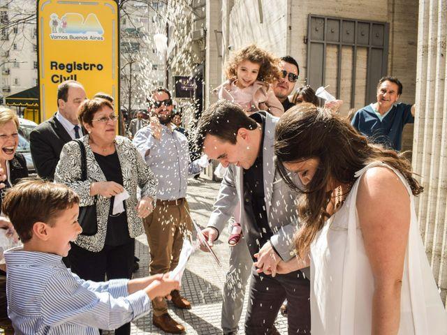 El casamiento de Emiliano y Carolina en Caballito, Capital Federal 12