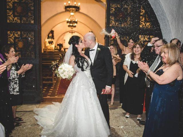 El casamiento de Nazira y Germán