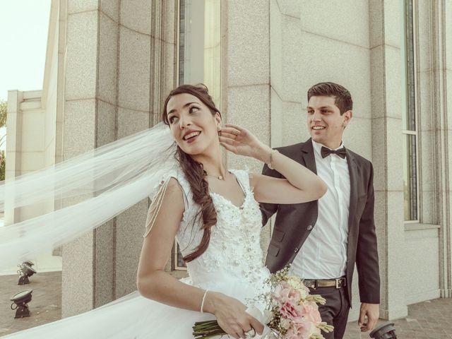 El casamiento de Agustina y José