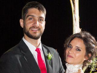 El casamiento de Franco Giardino y Agustina Mai Favali