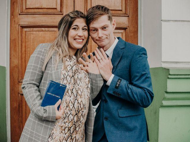 El casamiento de Ayelén y Ryan