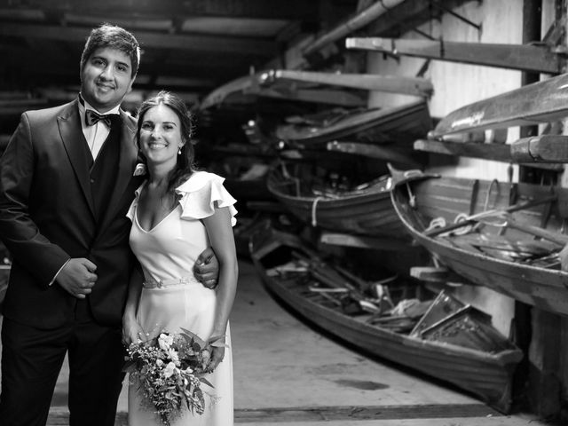 El casamiento de Marian y Fede