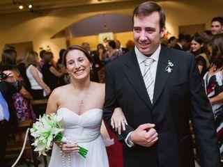 El casamiento de Cristina y Lucas