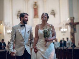 El casamiento de Bren y Nau