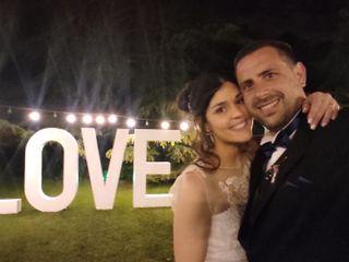 El casamiento de Federico y Yesica